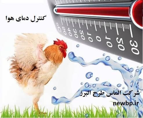 کنترل درجه حرارت بدن