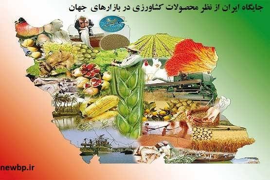 پردرآمدترین محصولات کشاورزی در ایران