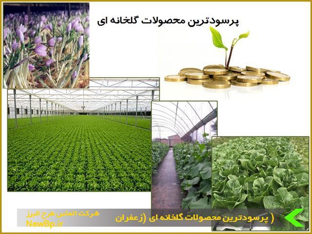 پرسودترین محصولات گلخانه ای