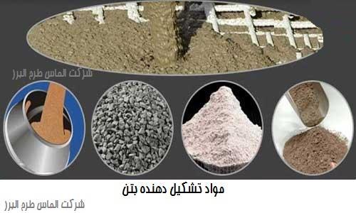 مواد تشکیل دهنده بتن